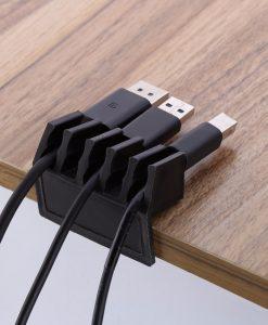 ארגונית כבלים לשולחן העבודה