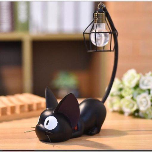 מנורת לילה שולחנית חתול