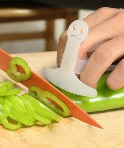 מגן אצבע לחיתוך ירקות
