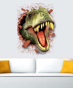 מדבקת קיר דינוזאור