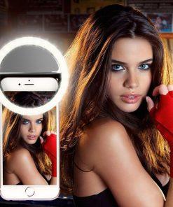 טבעת אור LED לצילום סלפי