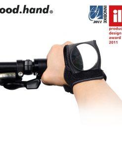 רצועת יד עם מראה לרכיבה בטוחה