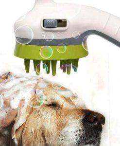 ראש מקלחת מברשת לכלבים