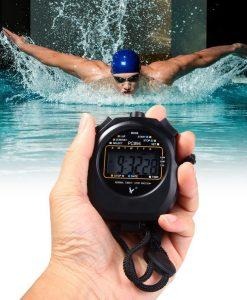 שעון עצר סטופר מקצועי דיגיטלי לספורט