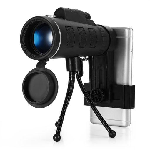 טלסקופ לטלפון נייד מיני משקפת 40X60 עם חצובה