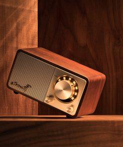 רדיו ורמקול בלוטוס אלחוטי בסגנון רטרו