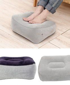 כרית מתנפחת לרגליים מתאימה לשימוש בבית ובטיולים