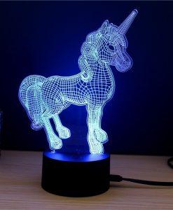 מנורת לילה חד קרן