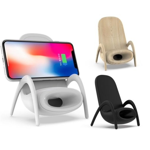 מטען אלחוטי בצורת כיסא
