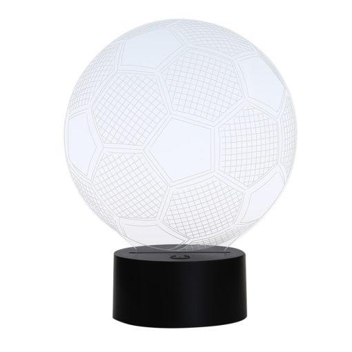 מנורת לילה כדורגל 7 צבעים