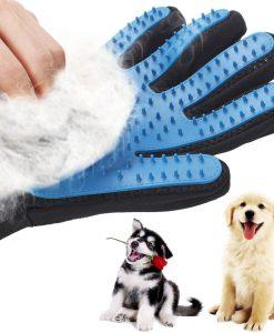 מברשת כפפה לכלבים ובעלי חיים