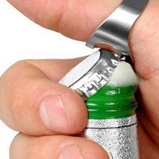 פותחן בקבוקים טבעת מתכת