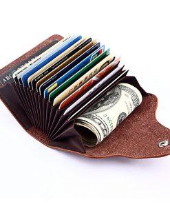 ארנק לכרטיסי אשראי אקורדיון
