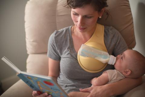 מחזיק בקבוק לתינוק