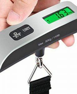 משקל דיגיטלי נייד למזוודות