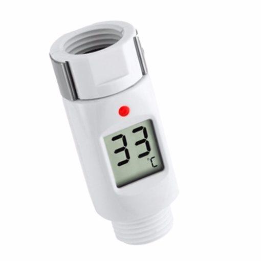 מד חום לצינור האמבטיה תצוגת טמפרטורה דיגיטלית