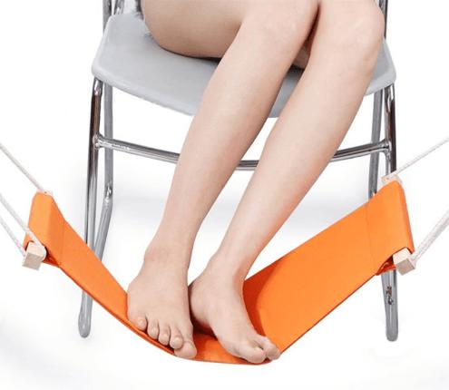 ערסל מנוחה לרגליים להקלה על כאבי רגליים והרפיית שרירים