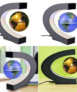 גלובוס מגנטי מרחף מנורה שולחנית