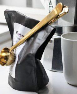 כפית מדידה לקפה עם קליפס