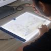 לוח אור לציור גודל A4 עם תאורת LED
