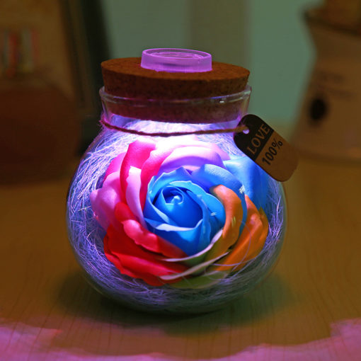 מנורת לילה רומנטית