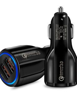 מטען USB כפול לרכב