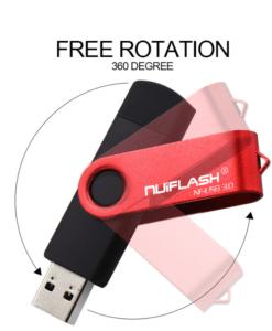 זכרון נייד RBT COLOR צבעוני USB 2.0 OTG 4-64 G