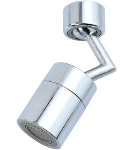 ראש ברז מסתובב 360 מעלות למטבח או חדר הרחצה